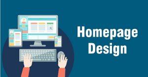Homepage Design Website Ideas in 2021